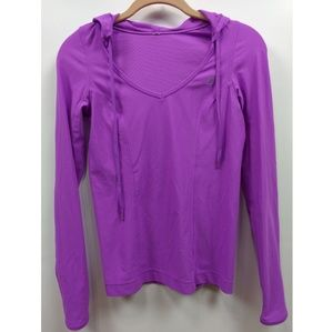Lorna Jane Catalina Long Sleeve Hooded Shirt Top S